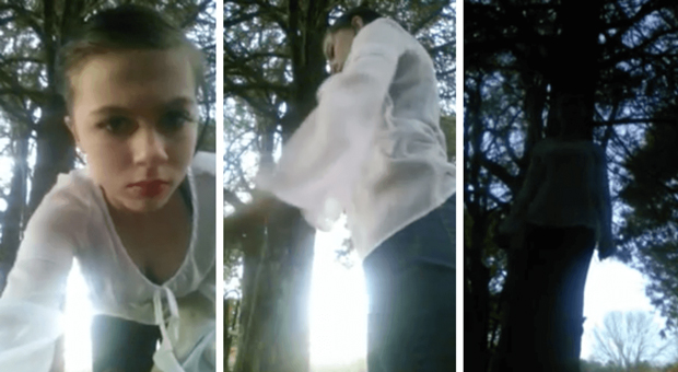 Image result for Live video of 12-year-old girl's suicide goes viral
