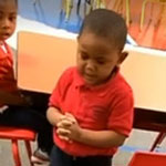 3-Year-Old Leading Class in lunchtime Prayer Blessing Food Goes Viral