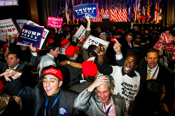 many young americans believe it is okay to fire someone for supporting trump