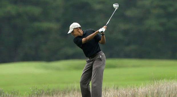FLASHBACK: Obama Was Playing Golf Same Day H1N1 Was Declared Public Health Emergency