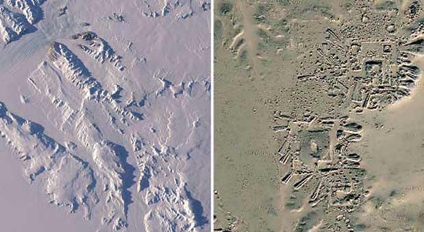 Archeologist Melting Ice Has Exposed An Ancient