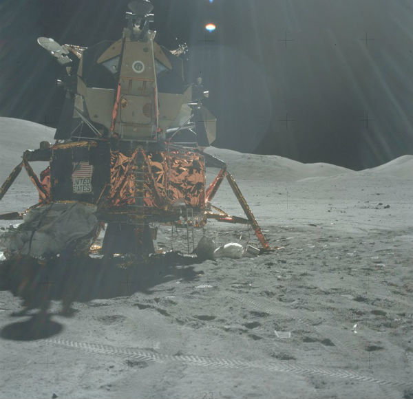 NASA Releases 10,000 Apollo Moon Mission Photos To Stop ...