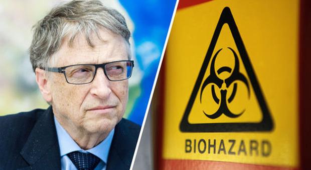 bill gates hävdar miljoner kommer att dödas av en dödlig epidemi orsakad av biovapen