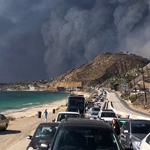 California's Most Devastating Wildfire in HISTORY Forces 250k to Evacuate Malibu
