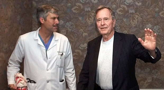 George H.W. Bush's Private Doctor Shot Dead in Drive-By Shooting