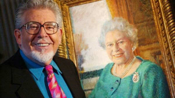 Rolf Harris was close with the royals, and even owns a portrait of the Queen