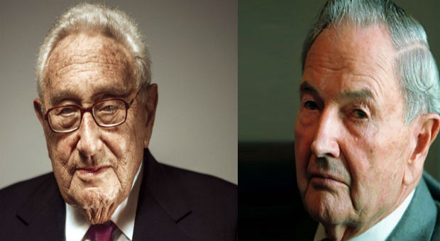 enry kissinger has written an open hearted article describing his love and respect for david rockefeller