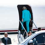 Hillary Clinton Flees The US As Email Investigation Reopened