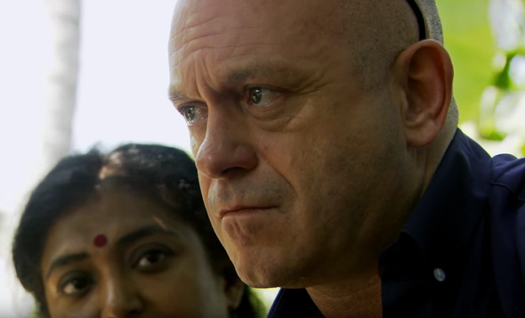hard man journalist ross kemp was brought to tears by the traffickers child killing admissions