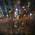 Citizens Flood The Streets Of Seoul In Massive Uprising Against Elite