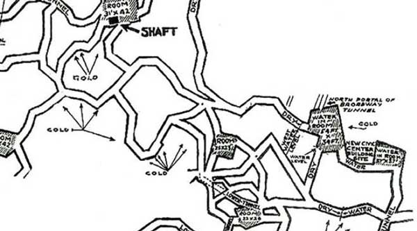 map the reptilians were discovered by a mining engineer named george warren shufelt back in 1933