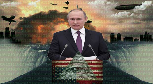 russian president vladimir putin has vowed to destroy the new world order