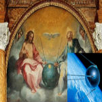 latest 400-Year Old Painting Reveals Jesus Sitting Next To A Satellite