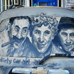 thumbnail for Dirt Car Drawings  Masterpieces In Muck Are Amazing