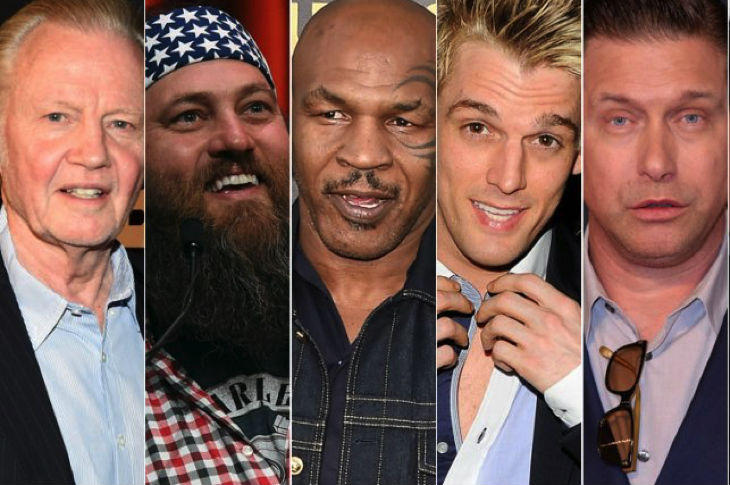 Revealed: List Of Celebrity Donald Trump Supporters