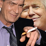 latest Charlie Sheen Says He Wishes Donald Trump Would Die
