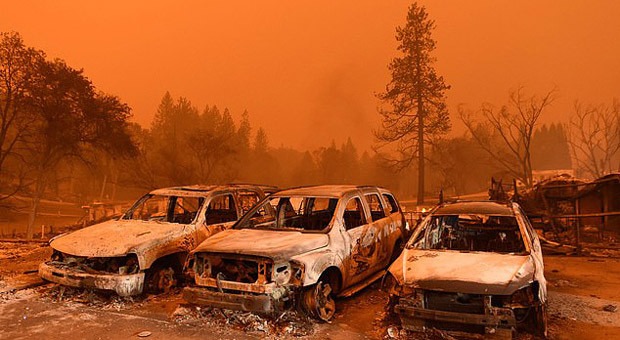 46 Feared Dead as Entire California Town Destroyed by Wildfires
