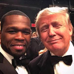 50 Cent Urges America to 'Vote for Trump' as He Flips on Democrats: 'I'm OUT'