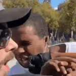 Antifa Member Knocks Black Man's Teeth Out for Holding Free Speech Rally - WATCH