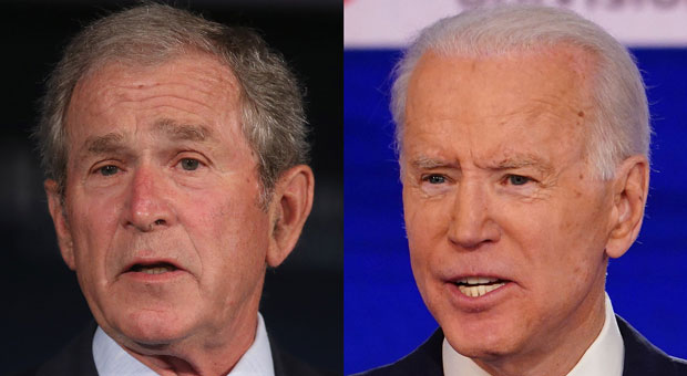 biden referred to former president george bush instead of the current president donald trump