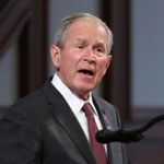 George Bush: Republicans Need to Be 'More Respectful About the Immigrant'