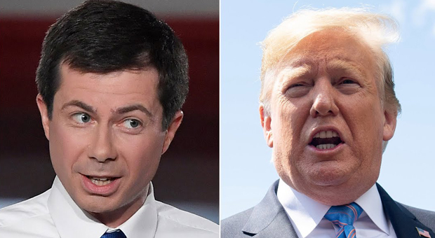 Buttigieg Claims Trump 'Faked Injury' to Avoid Vietnam Draft in 1968