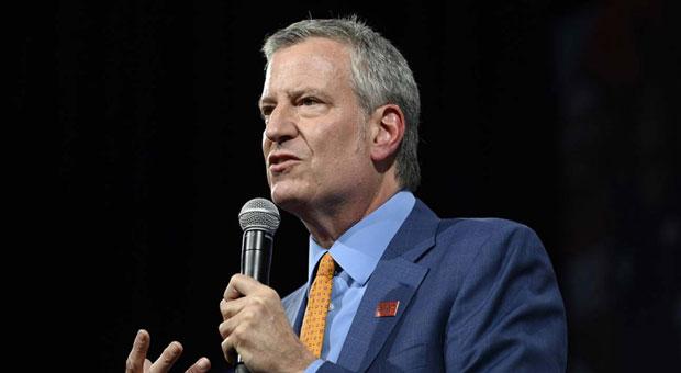 De Blasio Blames New York's Soaring Violent Crime on Coronavirus
