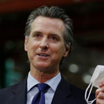 Gavin Newsom Exempts Hollywood Entertainment Industry from State's Stay-at-Home Order