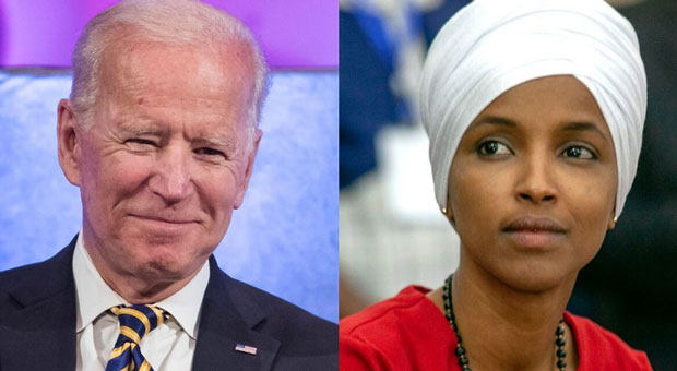 Ilhan Omar Mounts Pressure On Biden To Enact Far-left Agenda If Elected