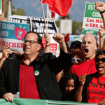 news thumbnail for L A  Teachers  Union Claims California s School Reopening Plan Is  Structural Racism