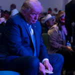 Liberals Implode Over Viral Video of Trump Giving Money at Church