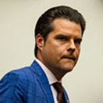 Matt Gaetz: 'I'd Be Concerned About Giving Biden a Code to My Garage Door Opener'