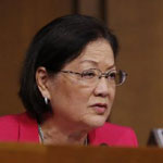 Mazie Hirono: 'Misogynist' Trump 'Can't Handle Strong Women'