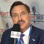 Mike Lindell's Mic Cuts Off After He Warns Against Taking COVID Vaccine