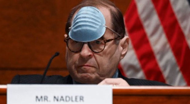 Nadler Removes Mask To Remind Republican House Members They're Not ...