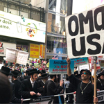 Hundreds Of Jews Gather in NYC To Protest 'Anti-Semitic' Ilhan Omar
