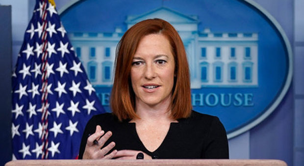 psaki appeared to admit that biden is planning on leaving americans behind
