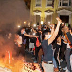 Rioters Torch Iconic St. John's Church Opposite White House