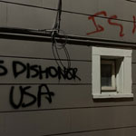 Seattle Buildings Vandalized with BLM Slogans, Calls for Violence Against Cops