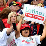 Support for Trump Among Latinos in California Jumps 8 Points in One Month