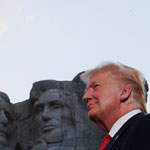 Trump on Adding His Face to Mount Rushmore: 'Sounds Like a Good Idea'