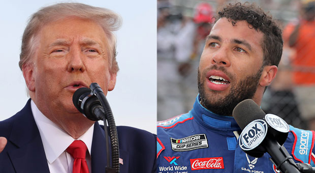 Trump Calls on Bubba Wallace to Apologize for Noose 'Hoax'