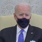 White House Cuts Off Biden's Live feed After He Says He's 'Happy to Take Questions'