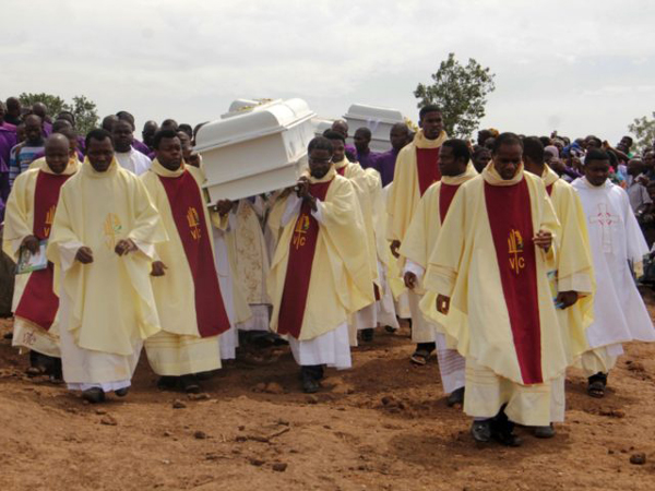 the group also highlights the sharp rise in the abduction of christians and damaged churches