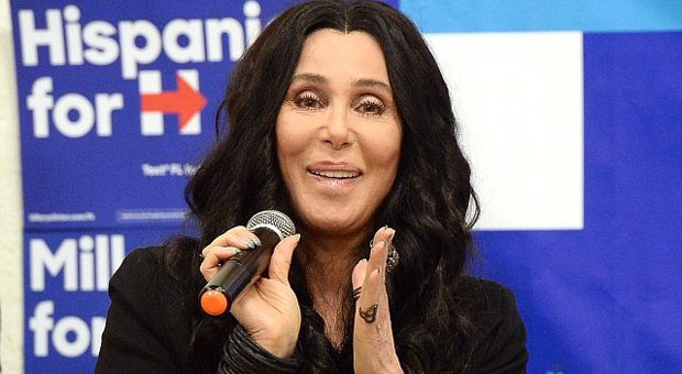 cher then begged democrats to turnout in next year   s midterm elections