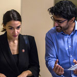 AOC Turns on 'Divisive' Ex-Chief of Staff; Says He 'Targeted' Moderate Democrats