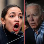 news thumbnail for AOC Vows to Push Biden Further Left if He Wins Election