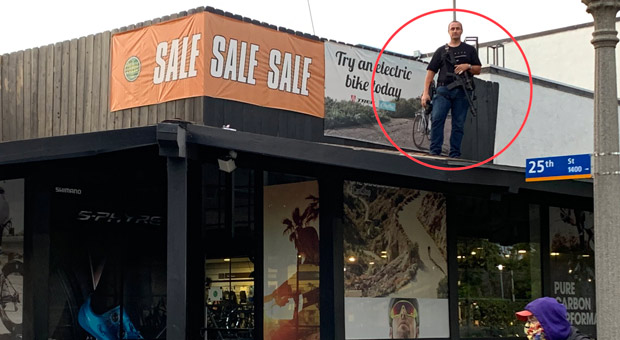 Armed Santa Monica Store Owners Rise Up to Defend Businesses from Rioters