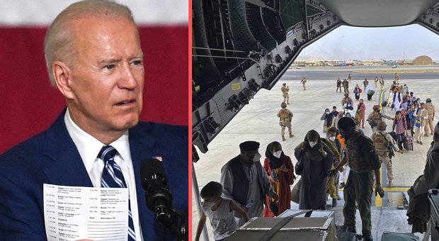 biden failed to extend the evacuation deadline  meaning many could now be left behind