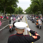 Biden Ends Veterans' Annual Memorial Day Motorcycle Parade
